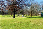 Becker Park - Trees and playground